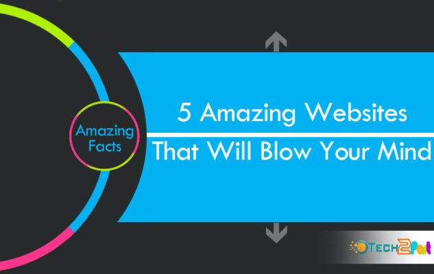 5 Amazing Websites