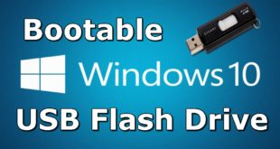 install windows 10 using Bootable USB