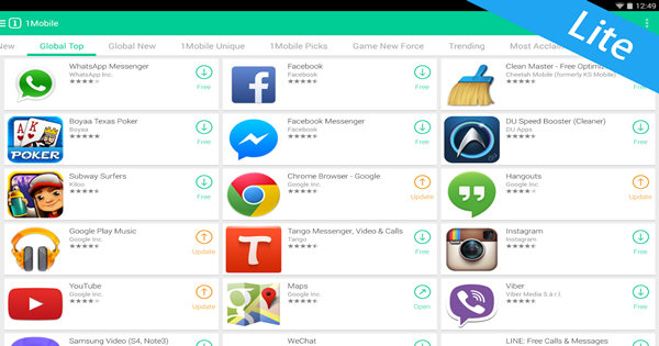 1Mobile Market - Paid apps for Free