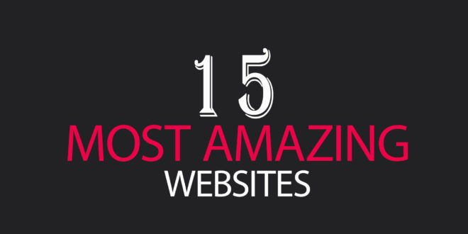 List of 15 Amazing and useful websites for daily use