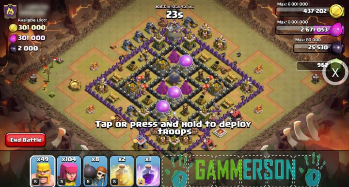 Hack Clash of clans and download xmodgames apk latest version