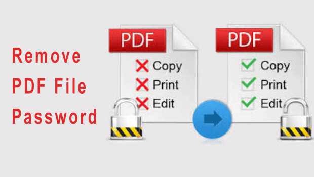 Remove PDF File Password