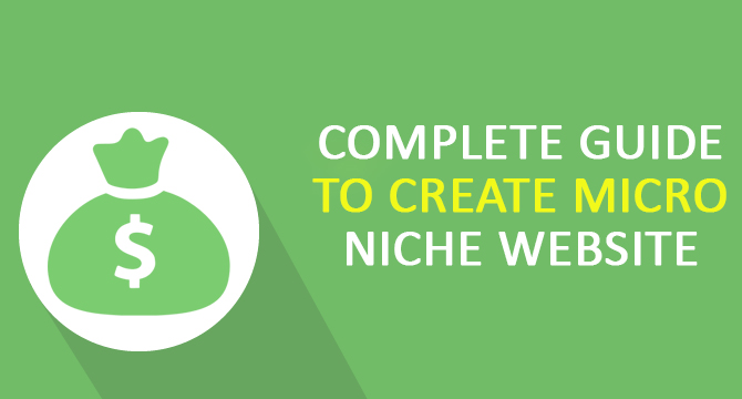 Complete Guide to Create Micro Niche Website