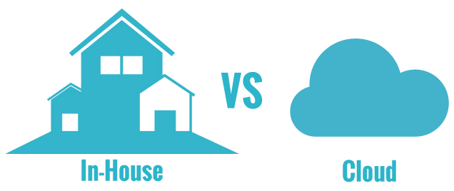 House Servers Vs Cloud